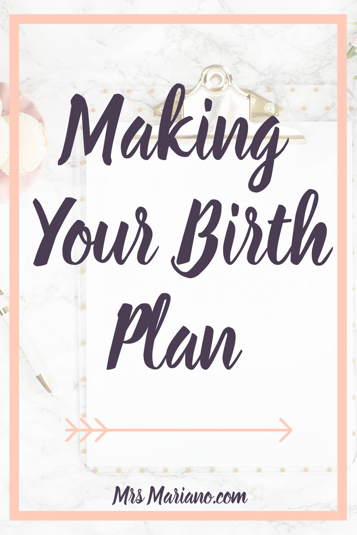 this post is full of practical tips for creating a birth plan for your ideal birthing