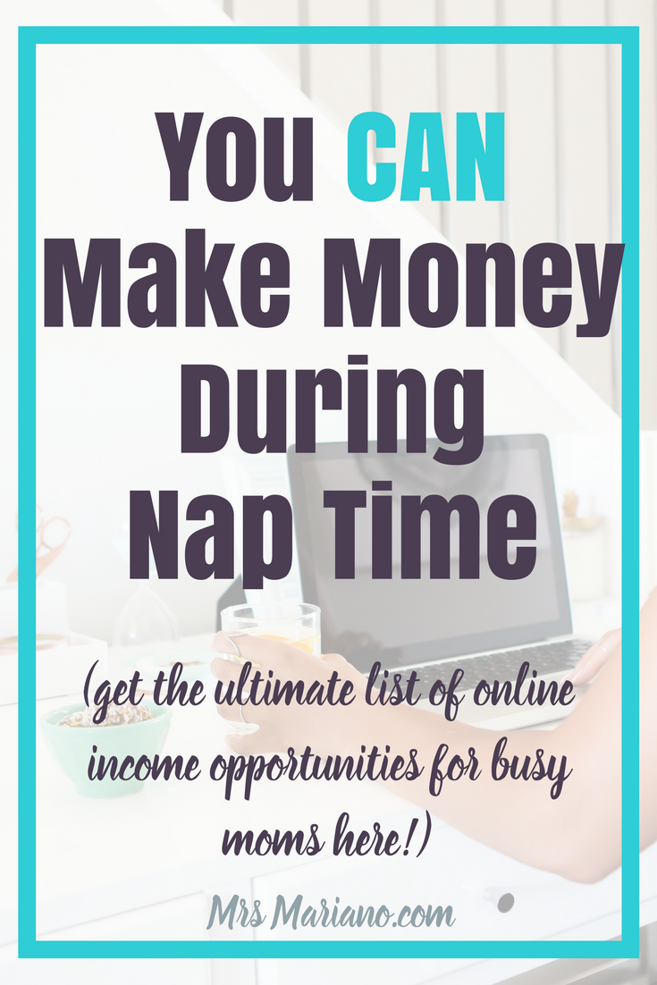 How To Make Money While Stay At Home Mom